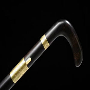 Traditional Handle Sword Cane 8192 Layers Folded Steel