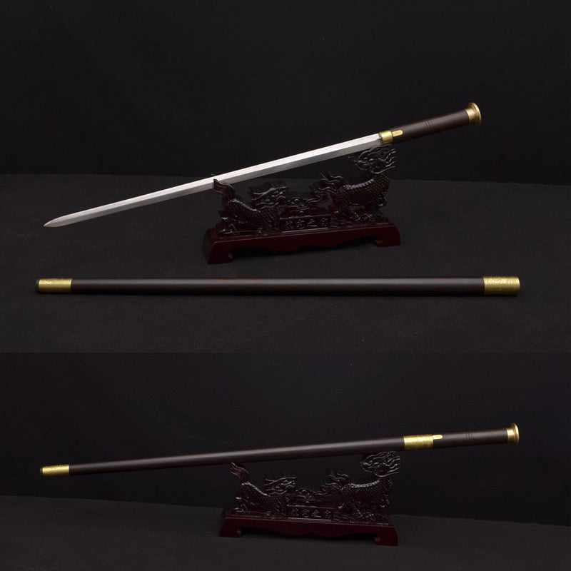Handmade Sword Cane 8192 Layers Folded Steel