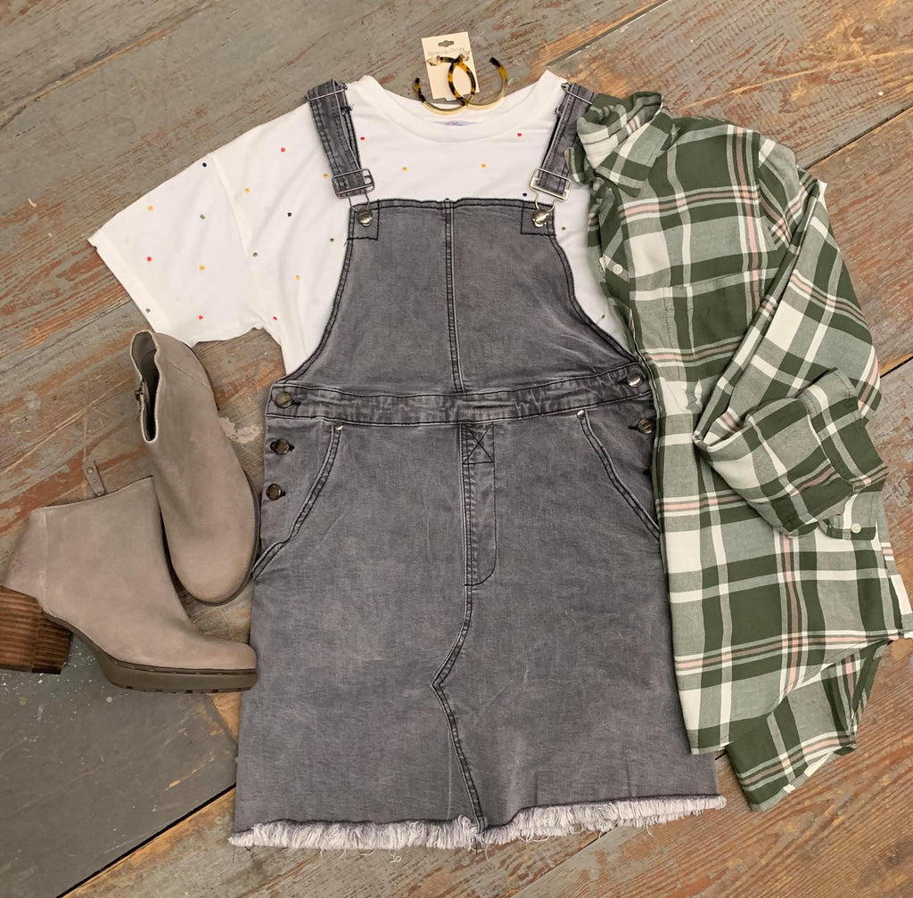 Lucky Brand Green Flannel