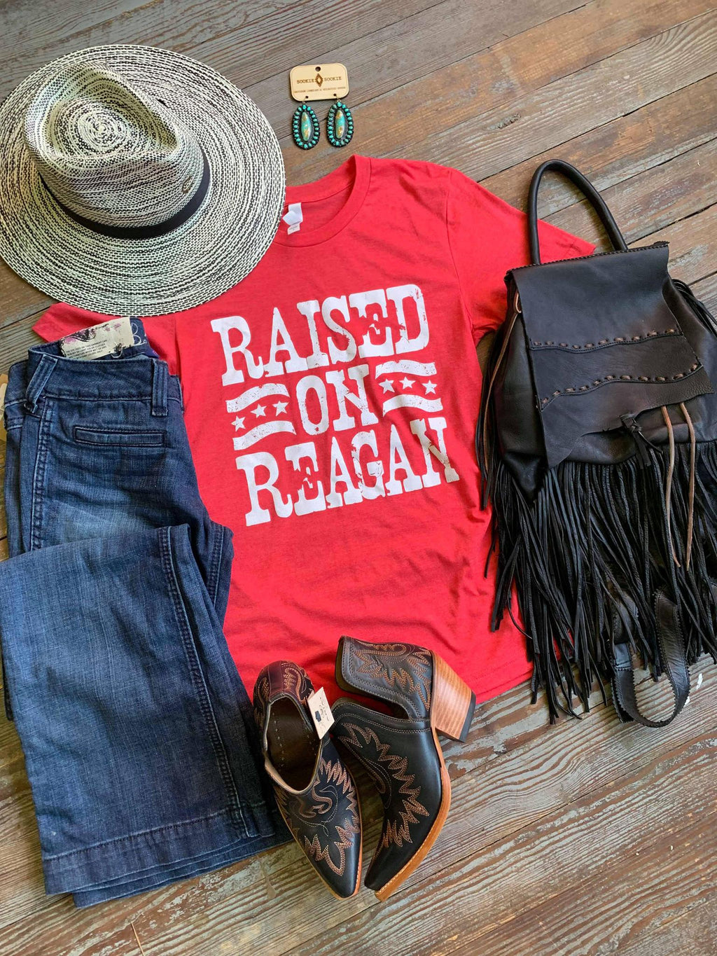 Raised on Reagan Tshirt