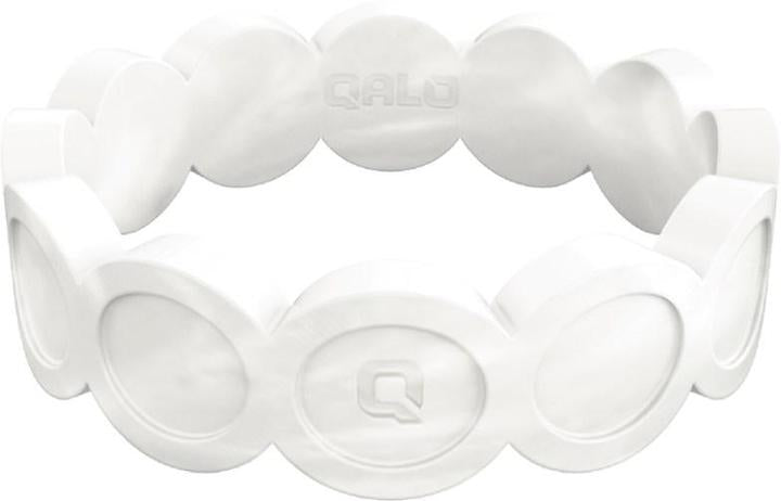 Qalo pearl white ring