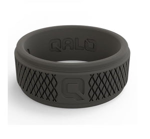 Qalo crosshatch ring
