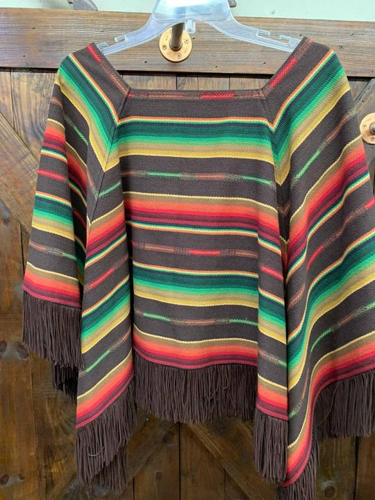 Riley Triangle Poncho silverado