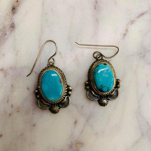 Thomas Fransisco sm Turquoise earrings