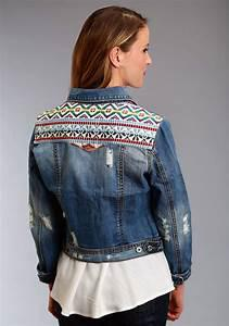 Stetson Southwestern denim jacket