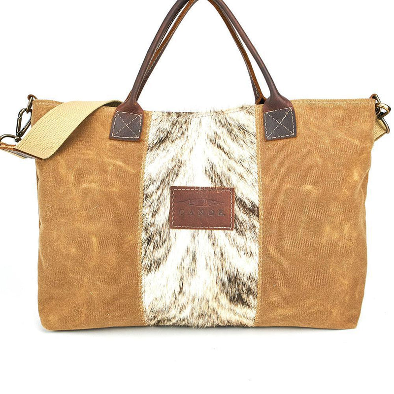 Canoe Brindle Market Bag