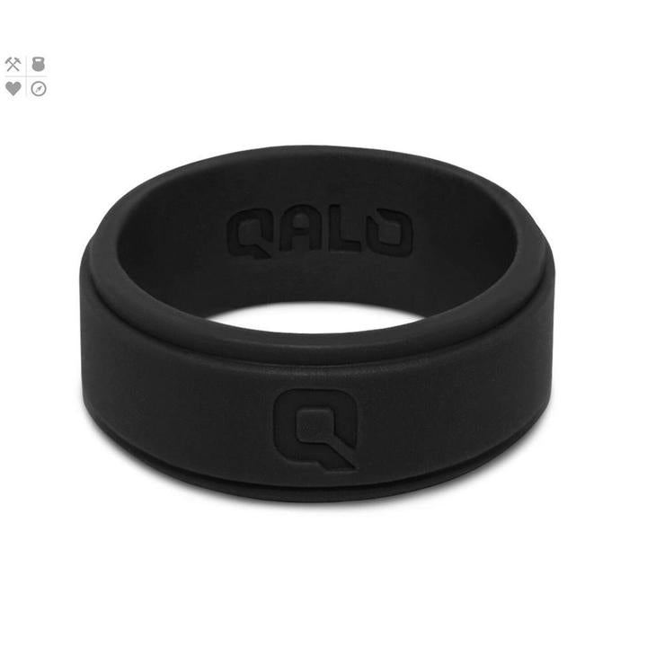 Qalo black ring
