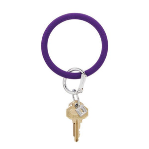 Deep Purple Big-O silicOne keyring