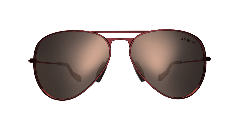 BEX Sunglasses Wesley Burgundy