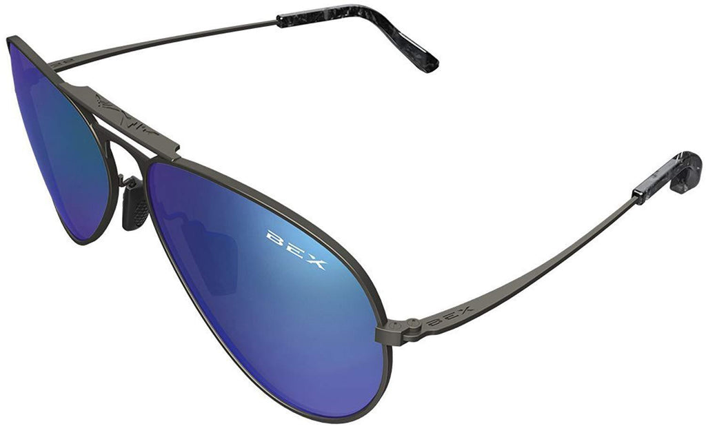 BEX Sunglasses Wesley Gunmetal and Iris