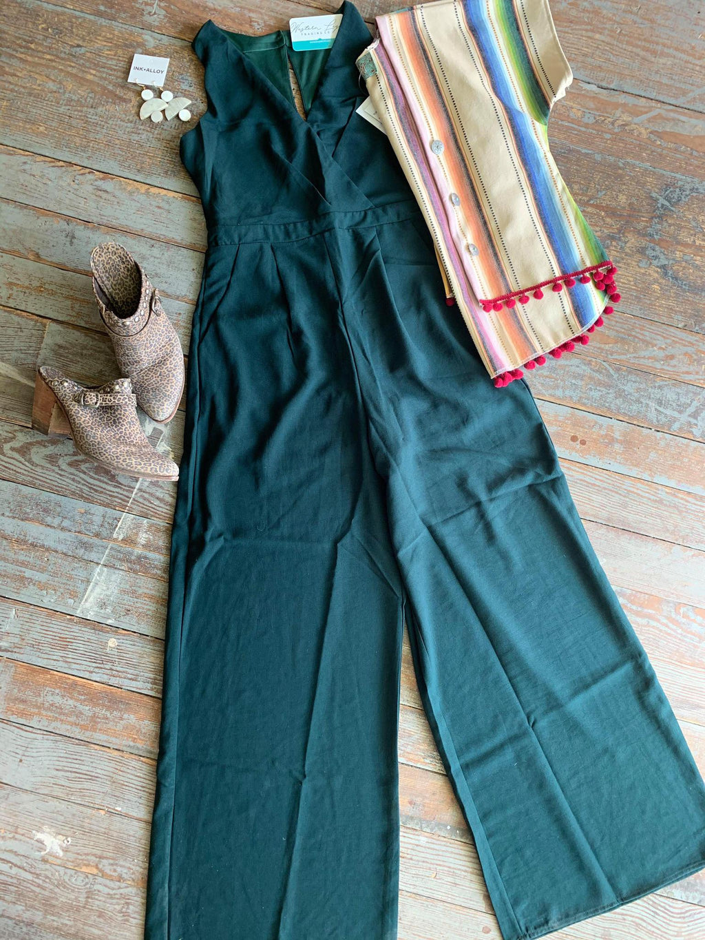 Jade Wide Leg Jumpsuit