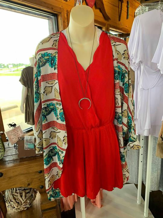 Scalloped Romper- two colors!