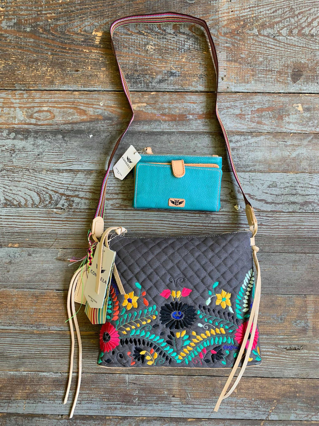 SILVERLAKE DOWNTOWN CROSSBODY Consuela