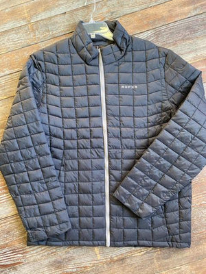 Roper Black Quilted Jacket