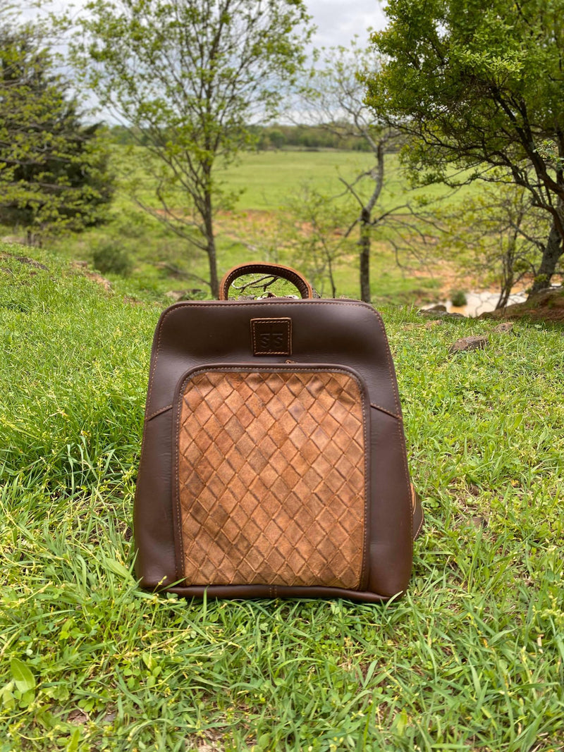 STS Basket Weave Backpack