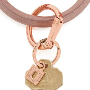 rose gOld locking clasp Big-O keyring