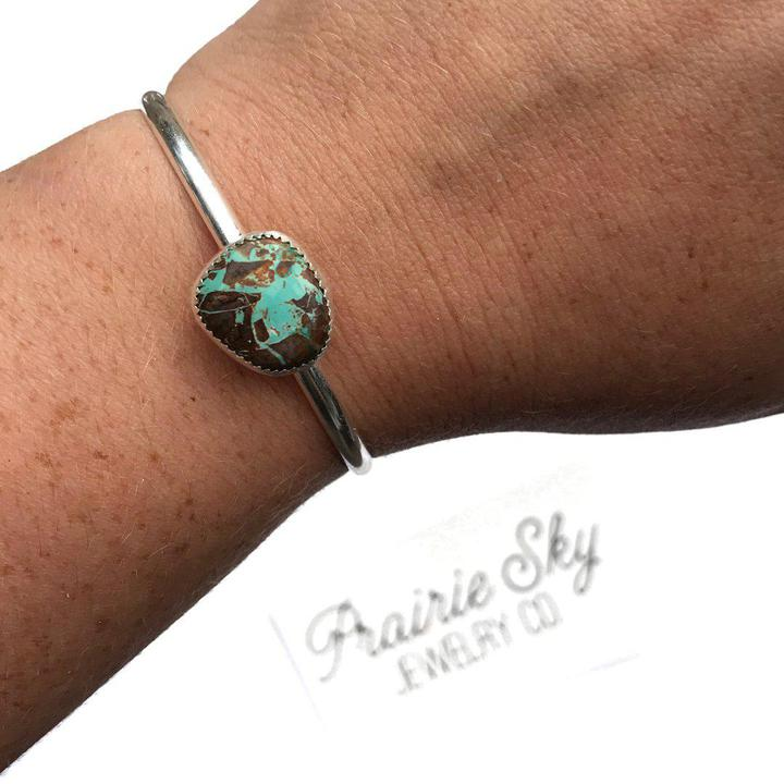Simple Stacker with Turquoise psky