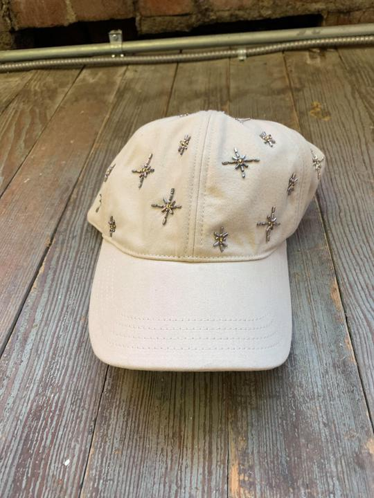 Lucky Brand beaded cap