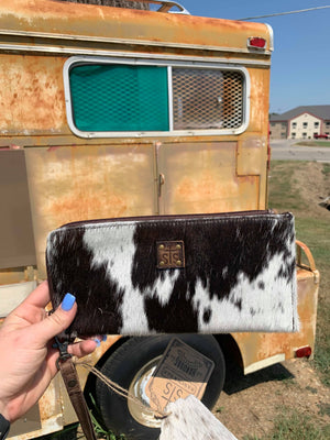 STS Classic Cowhide Clutch