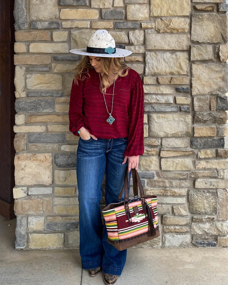 Buffalo Girl Tote STS