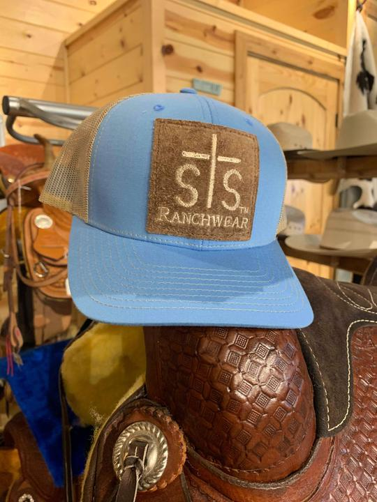 STS cap rough leather patch cap