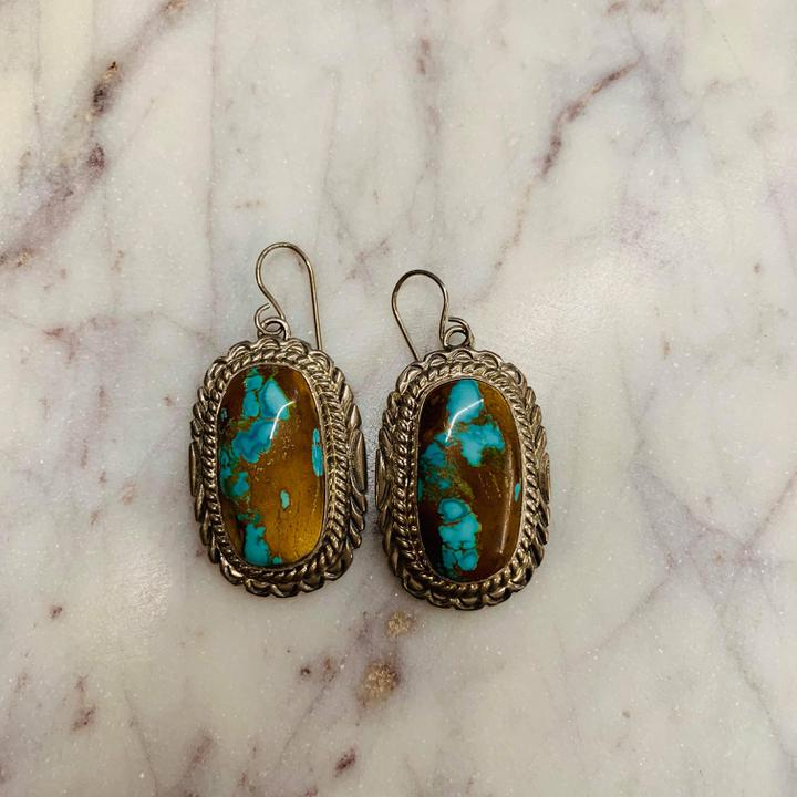 Thomas Fransisco Turquoise Earrings