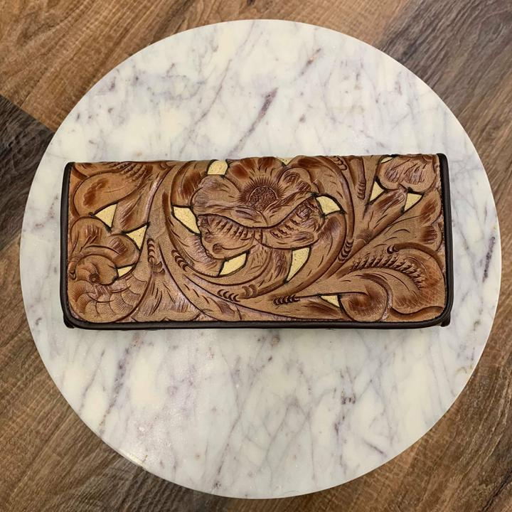 Juan Antonio XL tooled Wallet