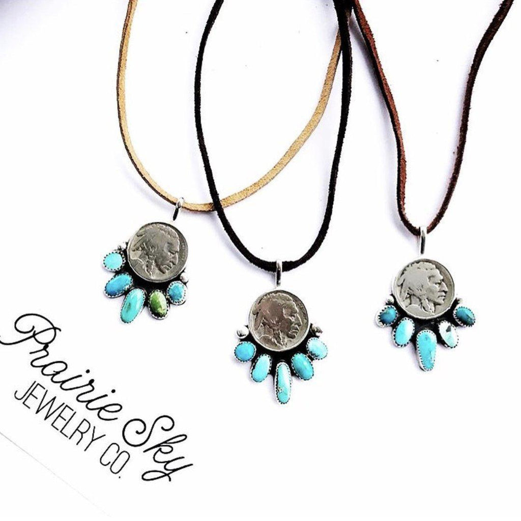 Five Tribes Necklace Prairie Sky