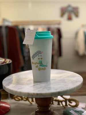 Mermaid at Heart Coffee cup