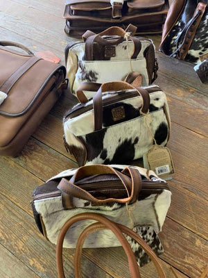 STS cowhide MU bag with handle