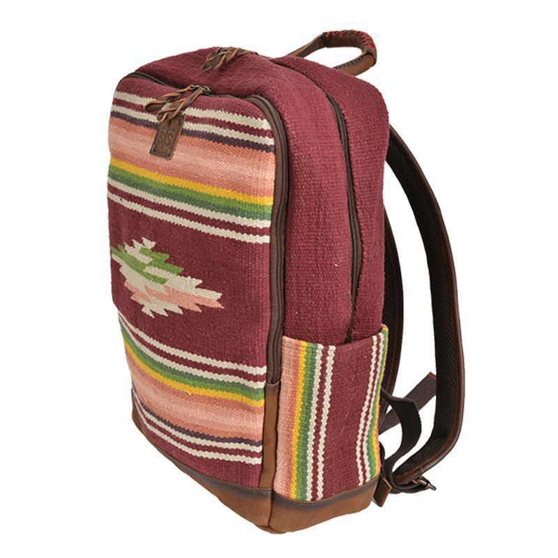 Buffalo Girl Serape Backpack STS