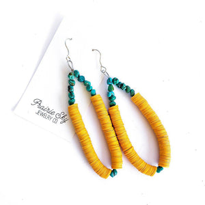Puebla Earrings Prairie Sky