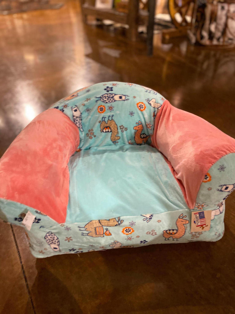 Little Girl Llama Kids Plush Chair