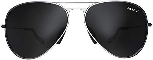 BEX Sunglasses Wesley Silver/Gray
