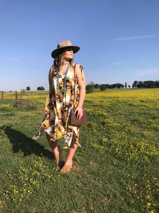 the sunflower dress