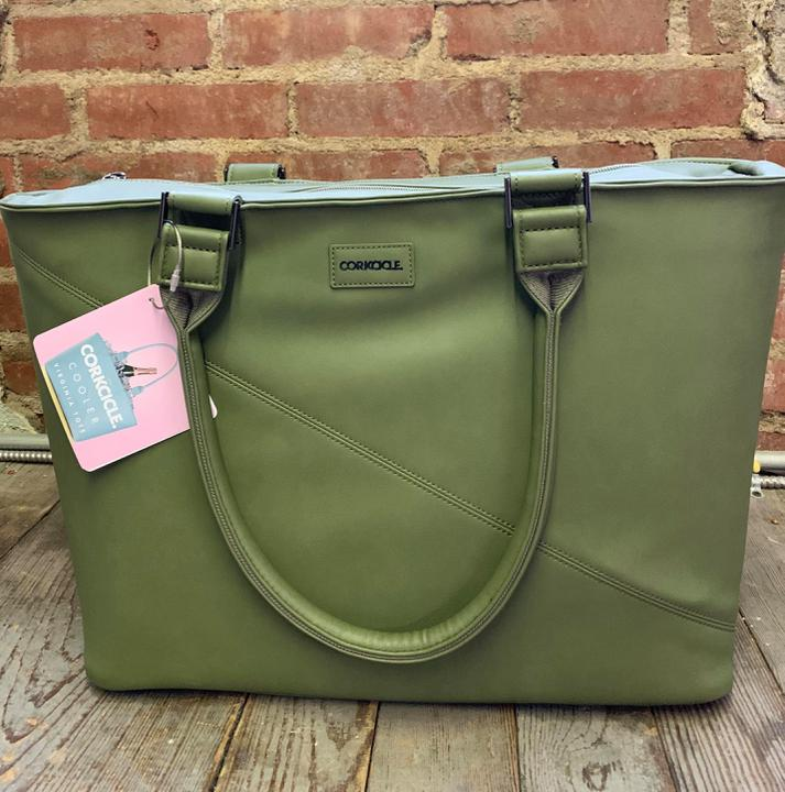 Corkcicle Virginia Tote-Olive