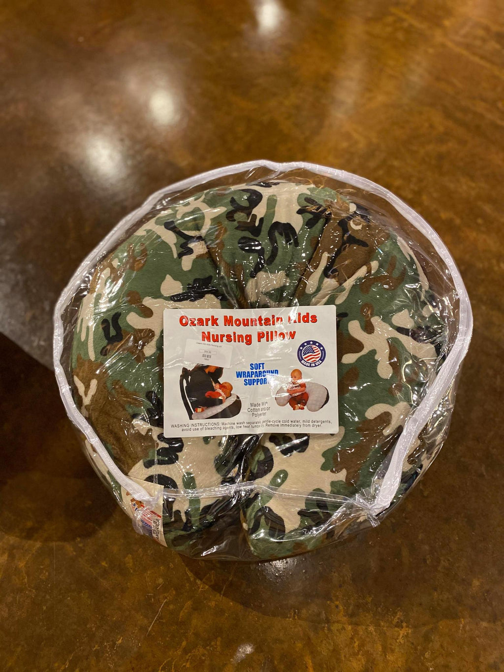 Camo Nursing Pillow