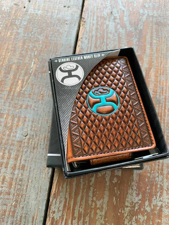 1910565 money clip wallet turquoise diamond