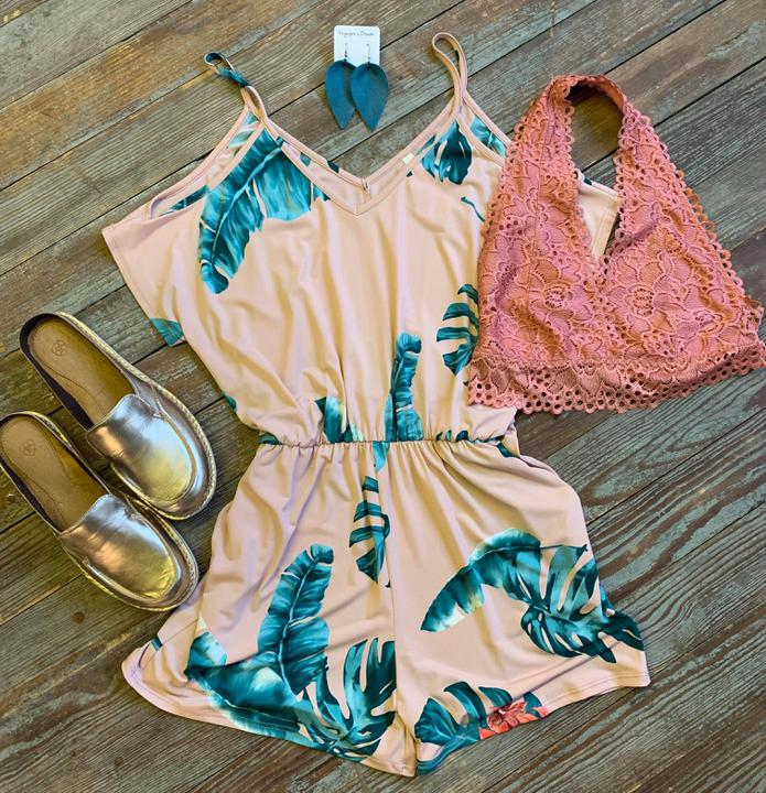 Tropical Times Romper