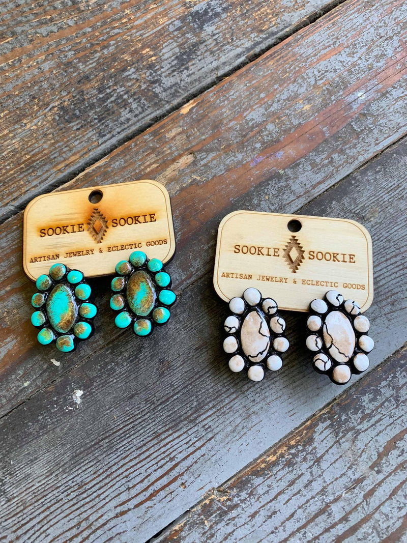 Waxahatchie stud earrings Sookie Sookie