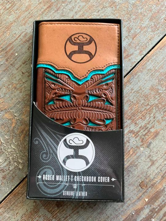 1779137 rodeo wallet tooled turquoise