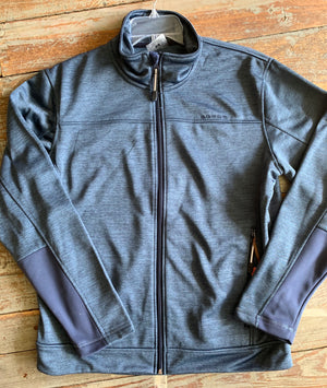 Roper Navy Zip Jacket