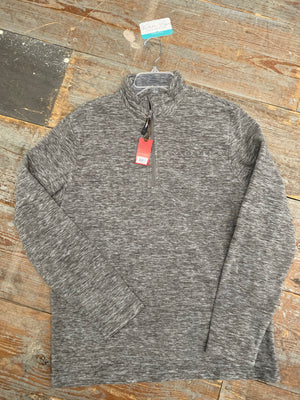 Roper Marbled Grey Quarter Zip