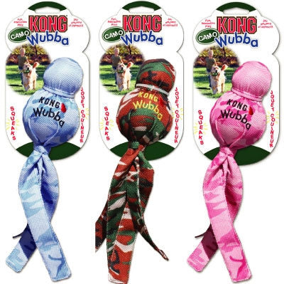Kong Camo Wubba Dog Toy, X-Large [WMX] - Peazz Pet
