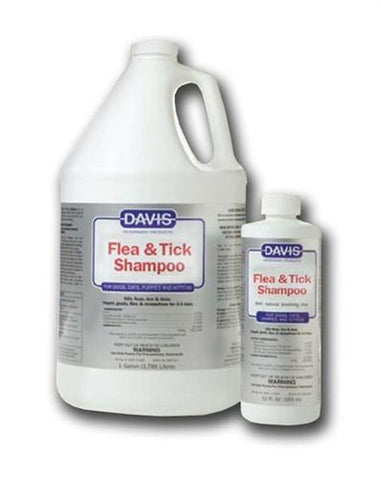 Davis 18574 Davis Flea & Tick Shampoo, 12 oz - Peazz Pet