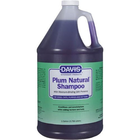 Davis 18622 Davis Plum Natural Shampoo, GALLON - Peazz Pet