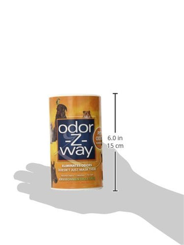 Odor-Z-Way 15058 OdorZWay Pet Odor Eliminator, 14 oz. ORANGE