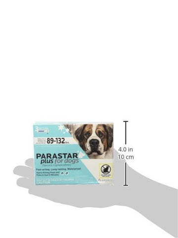Parastar Plus For Dogs 89-132 lbs, 3 Applications