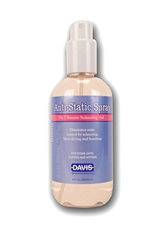 Davis Anti-Static Spray, 8 oz - Peazz Pet