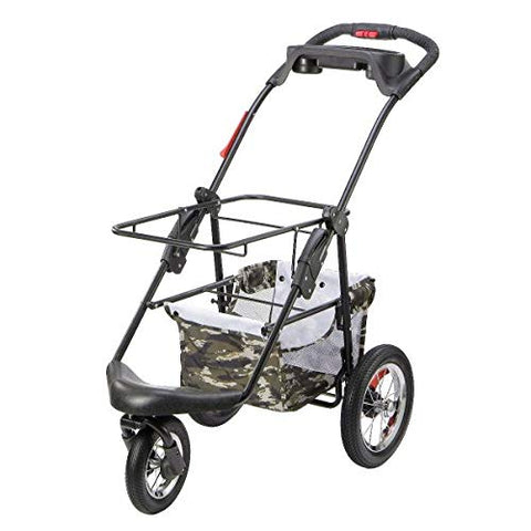 PETIQUE PC02020103 Pet Stroller, Army Camo, One Size